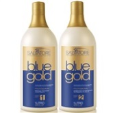 Kit Salvatore Blue Gold - Escova Progressiva 1 Litro